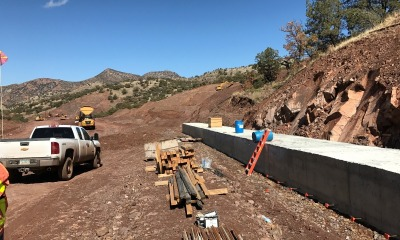 Ore from Rough Stock AZ zinc mine feasibility study consulting project